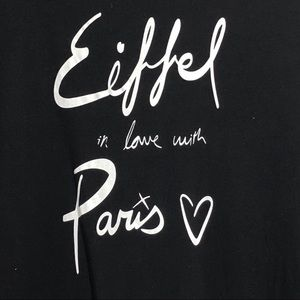 Old Navy Eiffel In Love With Paris Top